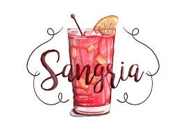 watercolor cocktail free sangria watercolor background download free vector art