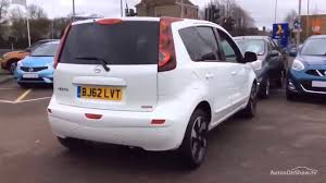 nissan note 2012 nissan note n tec plus white 2012 youtube