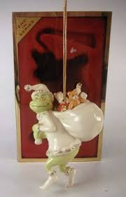 lenox china ornaments a grinchy gift from dr seusss the