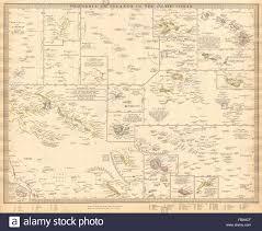 Tonga Map Pacific Islands Polynesia Hawaii Samoa Fiji Tonga Tahiti Cook
