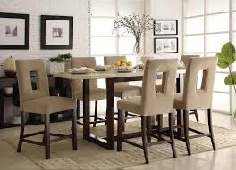 Bar Height Dining Room Table Sets Kitchen Bar Height Dining Table Set Room Pertaining To Design 15