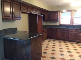 medium brown oak kitchen cabinets honey oak kitchen that we refinished in a medium brown