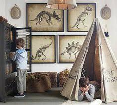 Beetling D Wall Art Transforms Kids Rooms Room Style Beetles - Dinosaur kids room