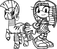 tikal zecora amy rose wallpaper coloring page wecoloringpage