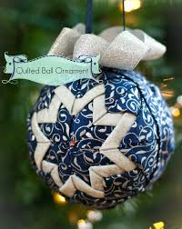 almost no sew quilted ornament sew mccool