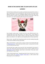 cat themed gifts for cat lovers by emma bassiri issuu