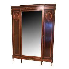 Mirror Armoire Wardrobe Vintage U0026 Used French Armoires Wardrobes And Linen Presses Chairish