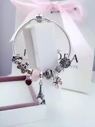 beaded silver bracelet pandora images 50 off 239 pandora charm bracelet pink hot sale sku jpg