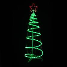 green spiral tree led light decoration indoor outdoor
