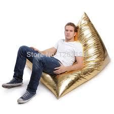 online shop elengant faux leather bean bag chair cover bean bag