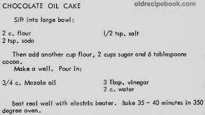 homemade chocolate cake recipes