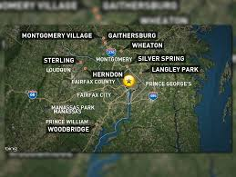 Fairfax County Map Facts About Ms 13 In Maryland Virginia Wusa9 Com