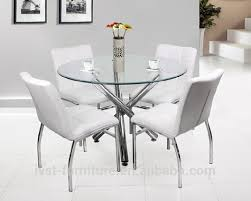 chrome round dining table amazing kitchen art designs from modern 4 seater round shaped dining