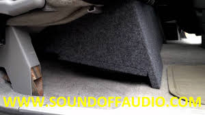 1988 to 1998 chevrolet extended cab dual box by sound off audio