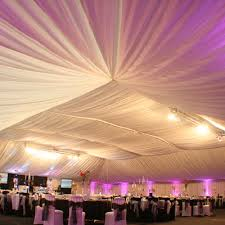 ceiling draping for weddings drapery roof drapes roof drapes wedding creative
