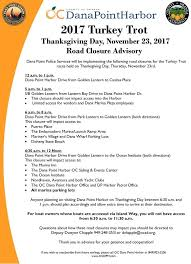 point harbor thanksgiving november 23 2017 road closures