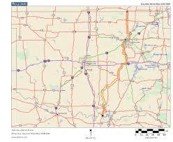 Map Oklahoma Oklahoma Highways Original Oklahoma Route 12