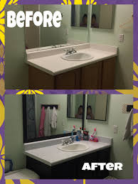 a whole bathroom transformation using contact paper that i u0027ve
