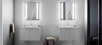 Lighted Mirror Bathroom Bathroom Mirrors Bathroom Kohler