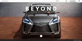 lexus website canada beyond by lexus magazine awwwards sotd
