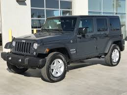fiat jeep wrangler new 2018 jeep wrangler jk unlimited sport s sport utility in yuma