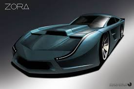 corvette c8 concept could the zora be gm s answer to the ford gt corvetteforum
