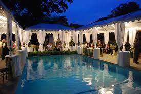 wedding decoration ideas pool backyard wedding decorations with