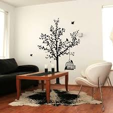 tree and birdcage wall sticker spin collective tree and birdcage wall sticker