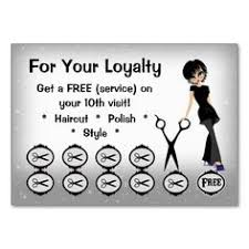 Business Card Express Marlton Nj Salon Loyalty Punch Cards Beauty Club Salons Salon Ideas And