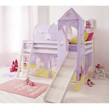 bedroom ideas princess fairytale cabin bed with slide tent