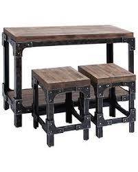 industrial style pub table industrial style bar height table our portfolio pinterest bar