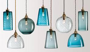 Cobalt Blue Mini Pendant Lights Contemporary Pendant Lights Drum Pendant Lighting Modern Pendant