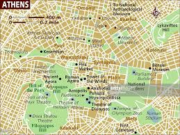 Dora Map Map Of Athens Stock Illustration Getty Images