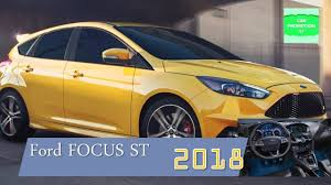 ford focus st yellow 2018 ford focus st review interior exterior focust st