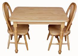 rectangle table and chairs children s tables chairs greene s amish furniture