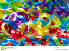 colorful ribbon bright ribbons of color stock image image of festive 2103403