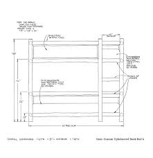 Bunk Bed Drawing Custom Designed Rustic Beds Exceptional Quality La Lune