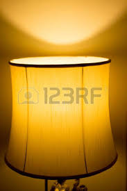 lamp night light in bedroom at home stock photo picture and