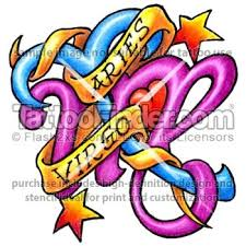 aries virgo tattoo tattoofinder com aries and virgo tattoo