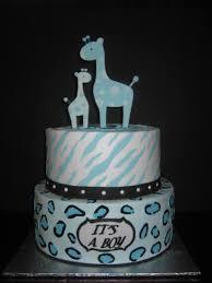 giraffe baby shower cakes zee s cake designs baby shower cakes