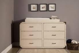 u0026 ben providence 6 drawer dresser in distressed white b9116x