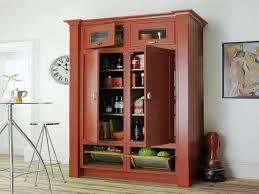 Stand Alone Kitchen Cabinets by Free Standing Kitchen Pantry Cupboard Storage Ideas Kitchen
