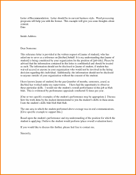 Recommendation Letter Template For Student by Letter Best Business Template Job Uk Job Business Reference Letter