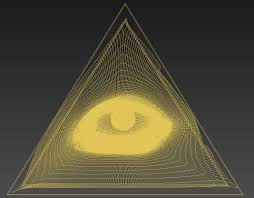 all seeing eye of god 3d model cgtrader