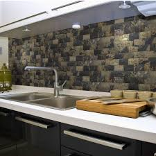 kitchen backsplash stone tiles aspect peel and stick metal tiles how to cut self adhesive
