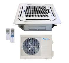 ductless mini split cassette 12 000 btu light commercial ductless hydroponic gardening