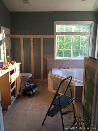Renovation Blogs by Master Bathroom Renovation Trim And Paint Actually Ashley