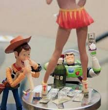 Woody And Buzz Meme - woody and buzz partying too hard meme shuffle pinterest meme