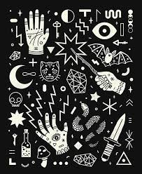 pattern illustration tumblr witchcraft illustration tumblr google search w i t c h e s