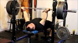 reverse grip bench press 410 lb x 1 1rm youtube